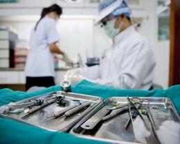 Burnos chirurgai