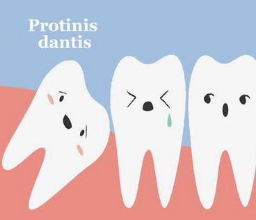 Ar viską žinojome apie protinius dantis?